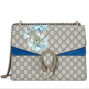 ada61b7c60c Gucci Dionysus Blooms Blue Shoulder Bag